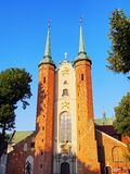 Cathedral in Oliwa, Gdansk. Cathedral in Oliwa - famous for its beautiful organs in Gdansk, Poland Stock Photo