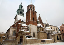 Free Cathedral On Wawel Castle Royalty Free Stock Photos - 41268678
