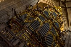 Cathedral Organ Royalty Free Stock Photos