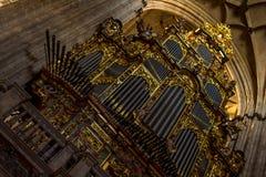 Cathedral Organ Royalty Free Stock Photos