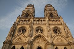 Cathedral, Orleans, Stock Photography