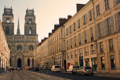Cathedral in Orleans (France) Stock Photography
