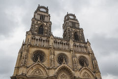 Cathedral of Orleans Royalty Free Stock Photo