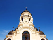 Cathedral orthodox built Stock Images