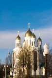 Cathedral orthodox church Royalty Free Stock Images