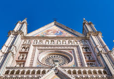 Cathedral of Orvieto Royalty Free Stock Images