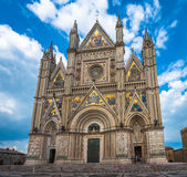 The Cathedral of Orvieto Duomo di Orvieto, Umbria, Italy Royalty Free Stock Photography