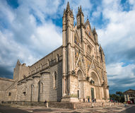 The Cathedral of Orvieto (Duomo di Orvieto), Umbria, Italy Royalty Free Stock Photos