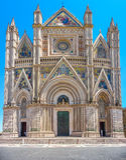 Cathedral of Orvieto (Duomo di Orvieto), Umbria, Italy Stock Photography