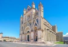 Cathedral of Orvieto (Duomo di Orvieto), Umbria, Italy Stock Photos