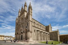 Cathedral of Orvieto Stock Photos