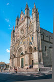 The Cathedral in Orvieto Royalty Free Stock Image