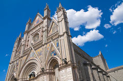 Cathedral of Orvieto. Umbria. Italy. Stock Photo