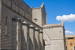 Cathedral of Orvieto. Umbria. Italy. Stock Photography