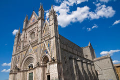 Cathedral of Orvieto. Umbria. Italy. Stock Images