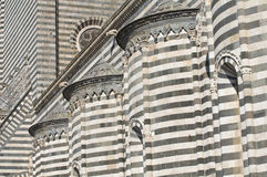 Cathedral of Orvieto. Umbria. Italy. Royalty Free Stock Photography