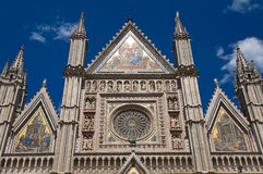 Cathedral of Orvieto. Umbria. Italy. Stock Photos