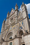 Cathedral of Orvieto. Umbria. Italy. Royalty Free Stock Images