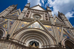 Cathedral of Orvieto. Umbria. Italy. Stock Image