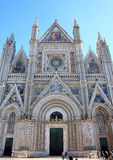 Cathedral of Orvieto, Umbria, Italy Stock Photography