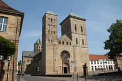 The cathedral in Osnabrück Royalty Free Stock Photography