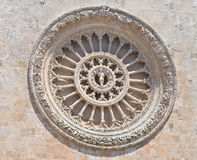 Cathedral of Ostuni. Puglia. Italy. Royalty Free Stock Image