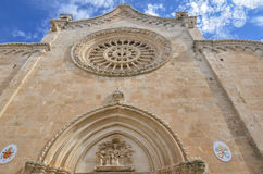 Cathedral in Ostuni, Puglia, Italy Royalty Free Stock Photography