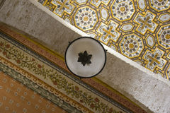 Cathedral of Otranto: details Ceiling decorations Stock Images