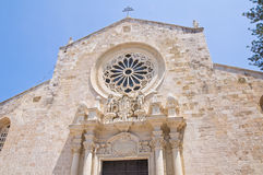 Cathedral of Otranto. Puglia. Italy. Royalty Free Stock Photography