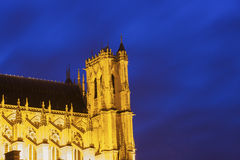 Cathedral of Our Lady of Amiens Royalty Free Stock Images