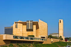 Cathedral of Our Lady of the Angels, Los Angeles. Royalty Free Stock Photos