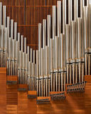 Cathedral of Our Lady of the Angels Pipe Organ Stock Images