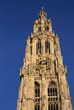 Cathedral of our Lady at Antwerp Stock Images