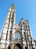 Cathedral of Our Lady in Antwerp Royalty Free Stock Image
