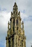 The Cathedral of Our Lady, Antwerp, Belgium. The Cathedral of Our Lady (Dutch: Onze-Lieve-Vrouwekathedraal) is a Roman Catholic cathedral in Antwerp, Belgium royalty free stock photo