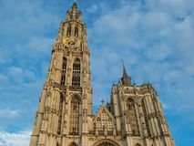Cathedral of Our Lady in Antwerp Stock Image