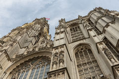 Cathedral of Our Lady in Antwerp, Belgium. Facade of Cathedral of Our Lady in Antwerp, Belgium (Onze-Lieve-Vrouwekathedraal Royalty Free Stock Photo