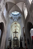 The Cathedral of Our Lady in Antwerp, Belgium Stock Images