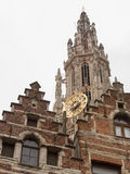 Cathedral of Our Lady in Antwerp, Belgium Stock Photos