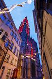 Cathedral of Our Lady in Antwerp Stock Photos