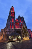 Cathedral of Our Lady in Antwerp Stock Photo