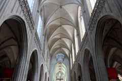 The Cathedral of Our Lady in Antwerp Stock Photo