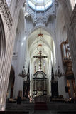 The Cathedral of Our Lady in Antwerp Royalty Free Stock Images