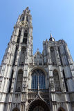 The Cathedral of Our Lady in Antwerp Stock Image