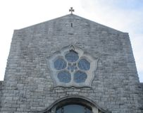 Galway Cathedral. The Cathedral of Our Lady Assumed into Heaven and St Nicholas, Galway, Ireland Stock Photography