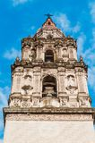 Cathedral of Our Lady of the Assumption of Cuernavaca royalty free stock photography