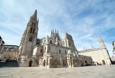 The cathedral Our Lady of Burgos Royalty Free Stock Images