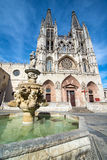 The cathedral Our Lady of Burgos Royalty Free Stock Image