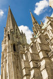 Cathedral of Our Lady of Chartres (Cathédrale Not Stock Image