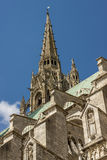 Cathedral of Our Lady of Chartres (Cathédrale Not Stock Images